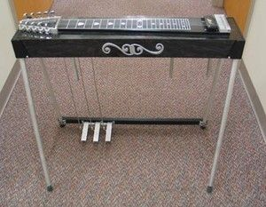 Carter Starter Pedal Steel Guitar w/ hard case 3 pedals 4 knee levers