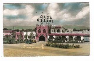 Casa Grande Hotel de Valles s L P Mexico 1952 Houston