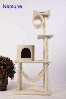 57 Cat Tree Condo House Scratcher Pet Furniture Bed 04