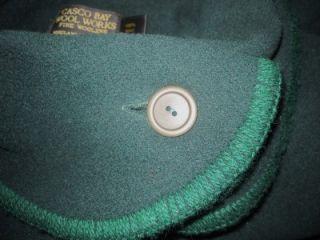 CASCO BAY Wool Works 100% Merino Wool Handcrafted JONES WALKER Womens