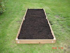 New 2x12 Cedar Raised Planter Elevated Flower Bed Garden Nearly 10