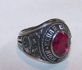 Cedar Crest High School Class Ring 1982 Jostens LTM Ladies