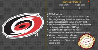Carolina Hurricanes NHL Hockey Decal Car Bumper Window Wall Sticker