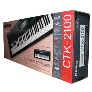 Casio CTK 2100 61 Key Personal Electronic Keyboard CTK2100 Brand New