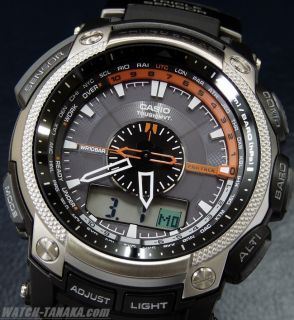 casio protek pathfinder atomic solar watch paw5000 description