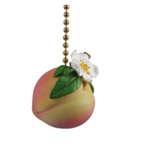 juicy fruit georgia peach ceiling fan pull chain