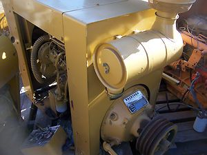 Perkins Diesel Power Unit Turboed 100 HP Plus with Clutch