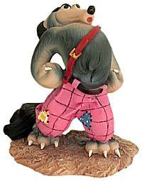 Madame Alexander 3 Little Pigs Big Bad Wolf Figurine