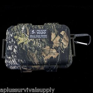 Pelican 1020 Micro Case Camo Cell Phone GPS Valuables Waterproof Box