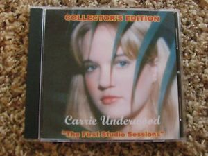 Carrie Underwood CD RARE Collectors Edition The First Studio Sessions