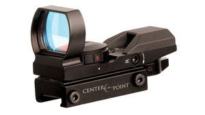 CenterPoint Tactical Red Green Reflex Sight 4 Reticles Pistol Dot