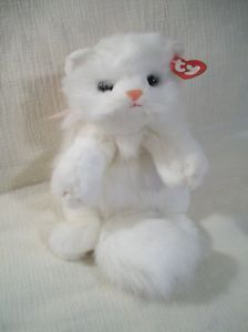 Ty Classic White Persian Kitty Cat Angel 1997 Plush MWM