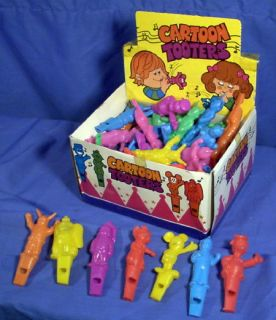 72 Whistles Display Box Cartoon Character Shapes Dumbo Mickey Donald
