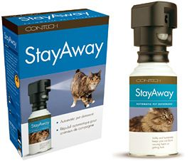 Stayaway Automatic Pet Cat Dog Deterrent Cat NIP Free