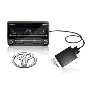 Toyota Digital CD Changer USB SD Aux In  Adapter Interface 2x6P