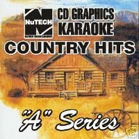 Country Karaoke CDG Set 19 Discs Over 340 Songs + 4 Bonus Discs if Bid