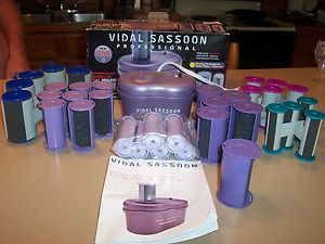 Vidal Sassoon ION MOLECULAR HAIRSETTER STEAM WITH EXTRAS NICE