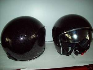 Casco Helmet Project Jet Gordon Glitter Visiera Inetrna