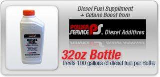 Dodge Cummins Ford Powerstroke GMC Duramax Power Service Fuel Additive
