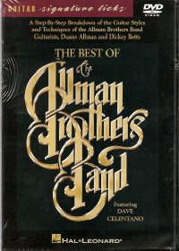 Allman Brothers Band Guitar Style Techniques Learn DVD
