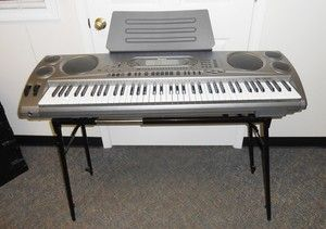CASIO ELECTRONIC KEYBOARD WK1630 PIANO MUSICAL INSTRUMENT 76 KEY W
