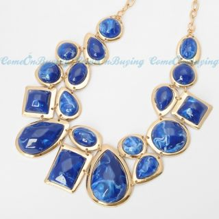 13 Colors Fashion Golden Chain Water Drop Oval Cloud Resin Bead