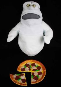 RARE Casper Fatso Feed Me Pizza 14 Plush Stuffed Doll 1994 Amblin