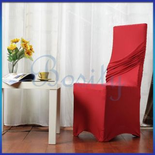 Banquet Universal Wedding Folding Chair Cover Dress Catering Party New