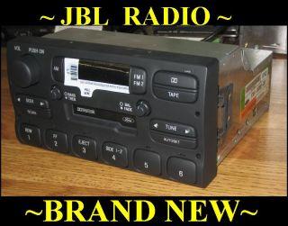 JBL Lincoln Town Car Cassette Tape Radio 1995 1996 1997
