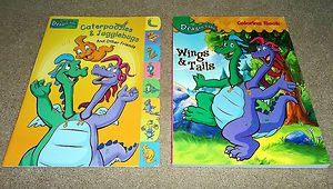 Coloring Activity Books Cassie Ord Max Emmy Zak Wheezy RARE