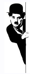 Charlie Chaplin 2 Sticker Vinyl Decal The Little Tramp