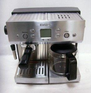 Krups XP2280 Precise Tamp Espresso Cappuccino Coffee Machine Maker XP