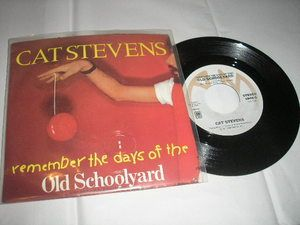 Cat Stevens Old Schoolyard Land OFreelove Goodbye 7 45 RPM A M in P