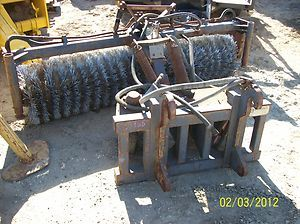 Balderson Sweeper Attachment for Cat Wheel Loader Used