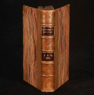 1845 The Philosophical Magazine Vol XXVI Faraday Cayley