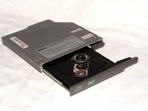 CD RW DVD Combo Drive Dell Latitude Inspiron 8W007 A01