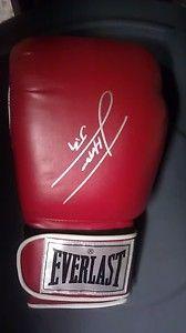 Julio Cesar Chavez Jr Signed Everlast Boxing Glove