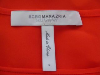 BCBG MAX AZRIA Midi Runway Dress Caterina in vibrant hue s new