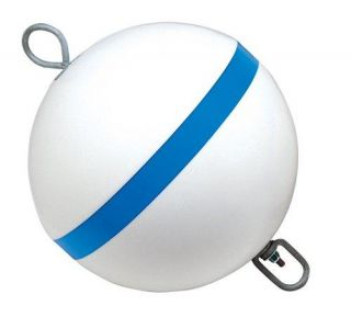 Products Sur Moor Traditional Boat Mooring Buoy 12 Blue Strip