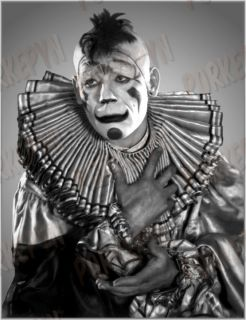 Lon Chaney Laugh Clown Laugh 8x10 posed 1