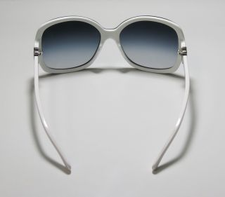 New Chanel 5174 Black White Gray Sunglasses Silver Logo on Arms Case