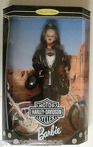 Doll Black Hair Brunette Leather Jacket Bike 074299204418