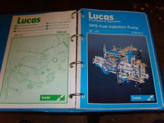 CAV DPS Fuel Injection Pump Workshop Manual Lucas CAV Service Training