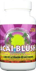 Acai Blush Dr. James Chappell QCI Health Products 60 Veg Caps