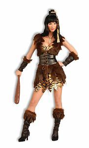 New Sexy Womens Caveman Costume Cave Cutie One Size