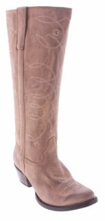 New LUCCHESE Tan I4838 BOOTS Womens 10 B KNEE Charlie 1 Horse $299