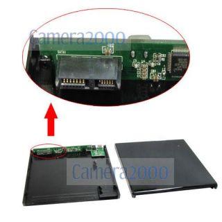 USB External Case Box for Laptop SATA CD DVD ROM Drive