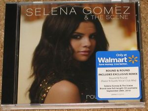 SELENA GOMEZ Round Round  Pre Sale CD w EXCLUSIVE REMIX RARE