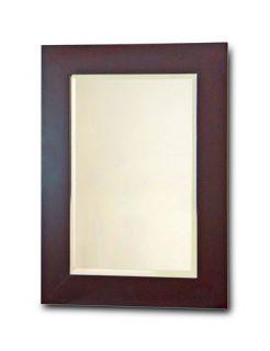 chatham bathroom wall mirror dark espresso