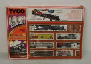 Tyco Chattanooga Choo Choo HO Scale Train Set 7331 with Bridge Trestle